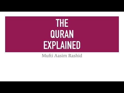Mufti Aasim Rashid: