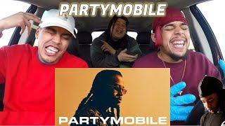 PARTYNEXTDOOR - PARTYMOBILE | REACTION REVIEW