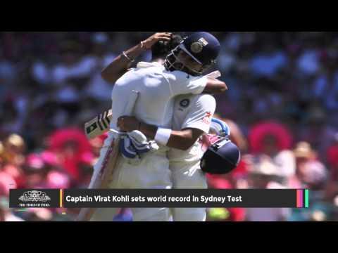 Captain Virat Kohli Sets World Record in Sydney Test - TOI