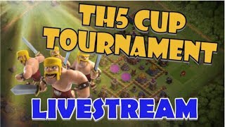 TH5 CUP TOURNAMENT LIVE! Winner gets $25,000! Hosted by Supercell and ESL Clash of Clans!