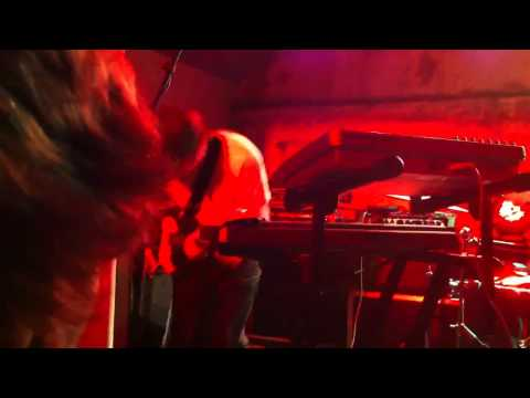 Three Trapped Tigers new song (Cramm) live at XOYO