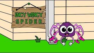 Incy Wincy Spider Nursery Rhyme   Preschool Songs   Baby Nursery Rhymes Song