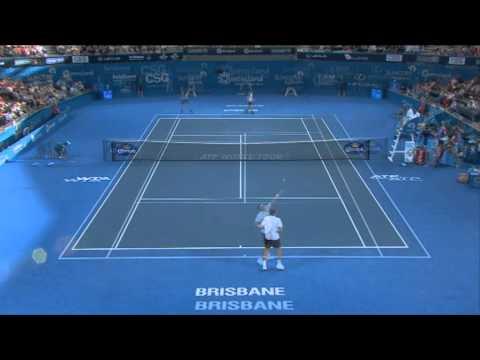 Andy Murray v Denis Istomin - Highlights Men's Singles Quarter Finals: Brisbane International 2013