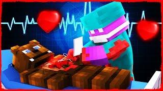 Minecraft FNAF - How to Do Surgery on FREDDY FAZBEAR