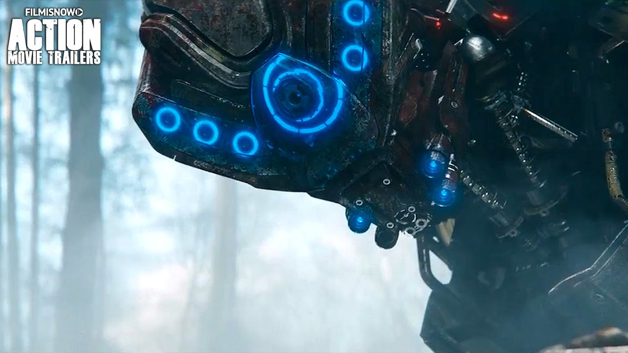 KILL COMMAND Official Trailer [Action Sci-Fi Movie 2016] HD