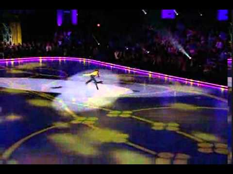 Johnny Weir Performing 'Just Dance' on Battle of the Blades 'let's dance'