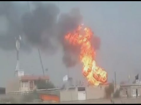 ISIS suicide bombers attack Iraqi gas plant near Baghdad
