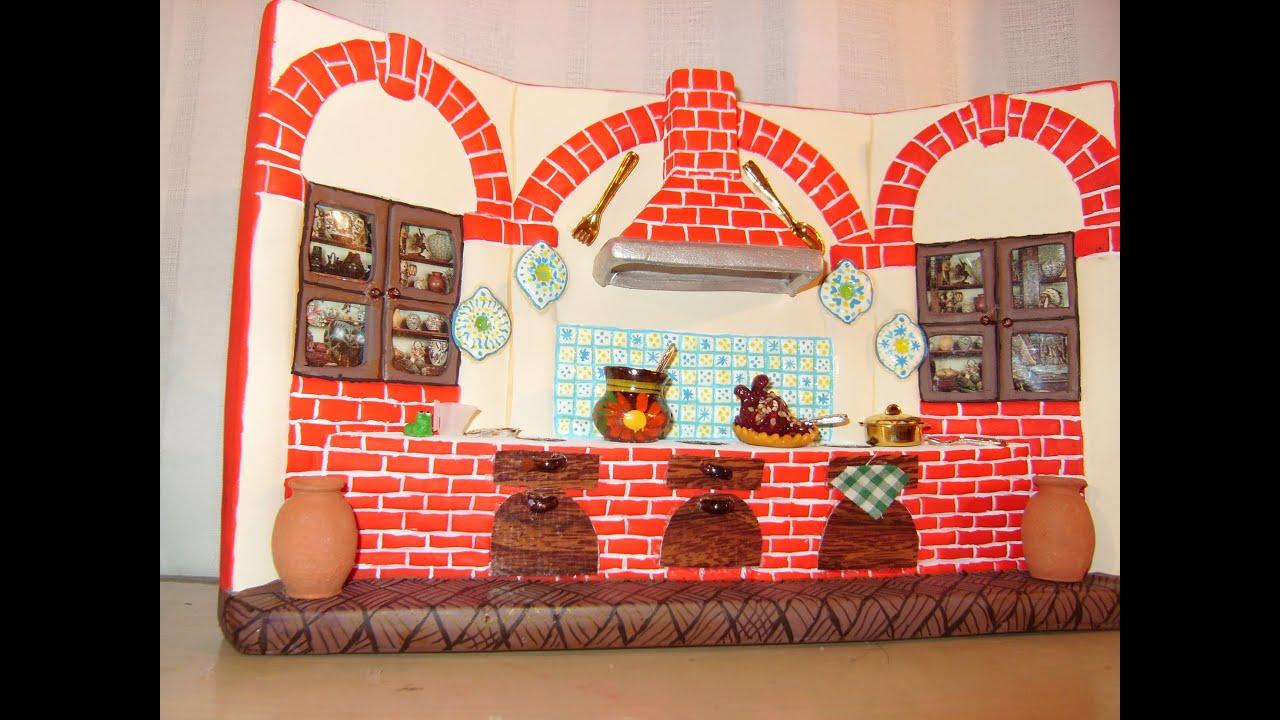 Diy c mo pintar una cocina de cer mica con adornos tipo for Ceramica para cocina