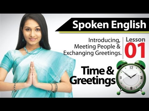 English Speaking - Basic English Training Module Chapter 01 video