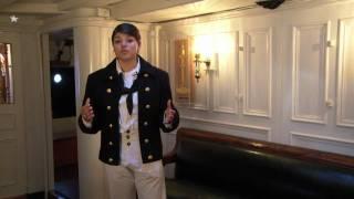 USS Constitution's Captain's Cabins