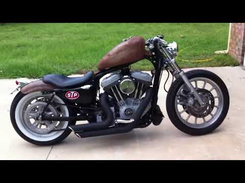 Harley Davidson Sportster Bobber walk around