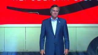 Gov Mitt Romney in Hastings 2014