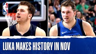 Luka Goes on Triple-Double TEAR in November!