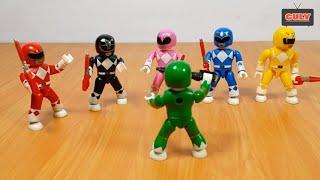 power rangers lego toy
