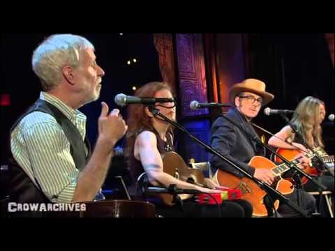 Elvis Costello, Jesse Winchester & Sheryl Crow on bass -