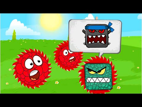 RED BALL 4 RED RASPBERRY BALL COMPLETE ALL LEVELS FROM 16 - 30 FULL WALKTHROUGH