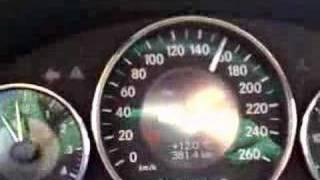 2007 Mercedes Benz CLS 350 240 Km/H