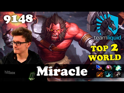 Miracle Axe [TOP 2 WORLD] | 9148 MMR Dota 2