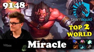 Miracle Axe [TOP 2 WORLD]   9148 MMR Dota 2