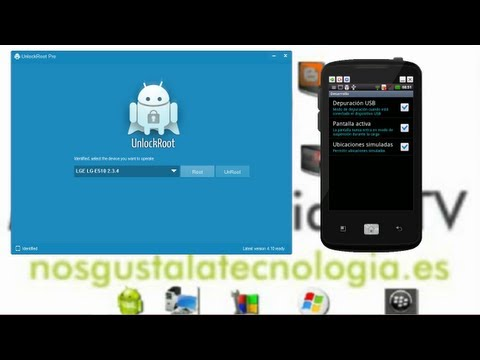 Root android mas facil imposible con Unlock Root Pro  actualizado