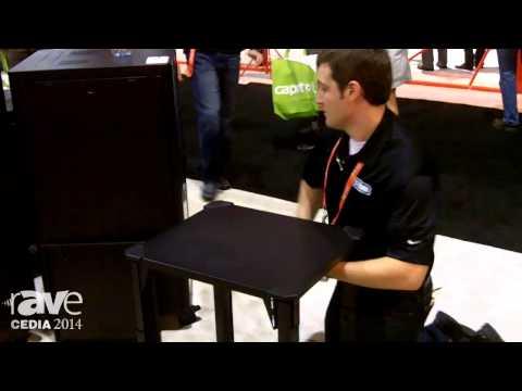 CEDIA 2014: SnapAV Demos Evolve Rack That Ships Flat, Rapidly Turns Into AV Rack