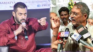 Nana Patekar's SHOCKING Comment On Salman Khan's Pakistani Actors Are Not Terrorists Comment