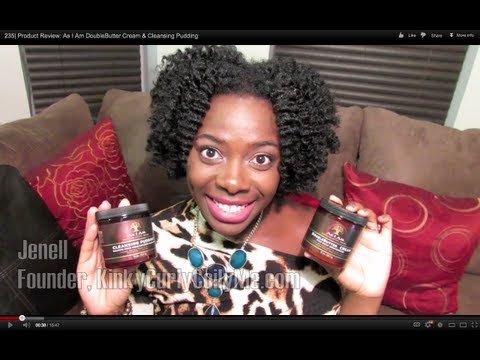 235  Product Review: As I Am DoubleButter Cream & Cleansing Pudding