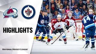 NHL Highlights  Avalanche  Jets 111219
