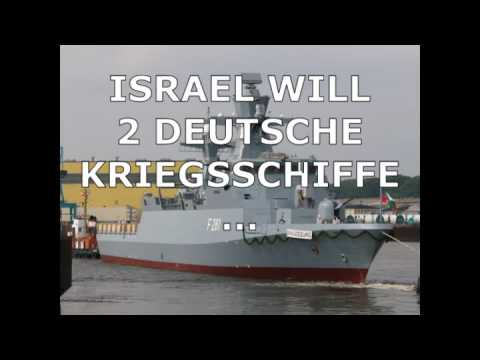 2 hoch moderne kriegsschiffe aus deutschland an israel youtube. Black Bedroom Furniture Sets. Home Design Ideas