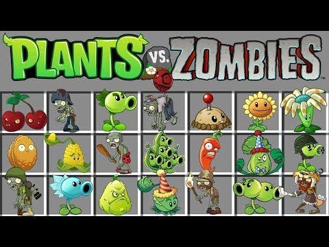 PLANTS VS ZOMBIES NO MINECRAFT!! QUEM É MAIS FORTE ?
