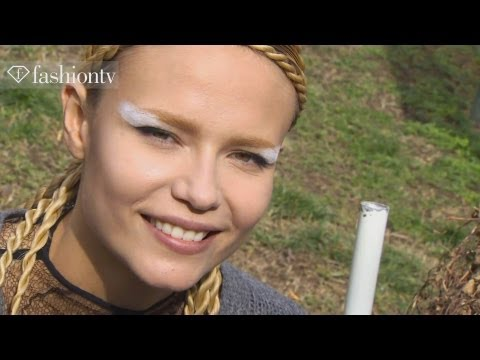 Natasha Poly - Model Talk at Fall/Winter 2012-13 Fashion Week | FashionTV