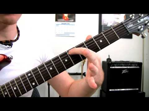 'Na Na Na' By My Chemical Romance - Guitar Riff Tutorial - How To Play Guitar Lessons + Tab