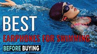 TOP 4: Best Earphones For Swimming 2017