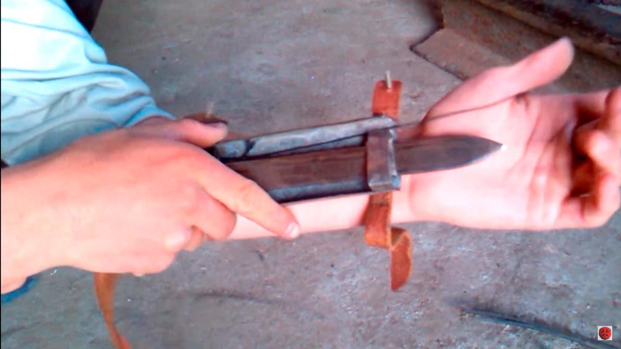 Как сделать скрытые ножи в домашних условия
