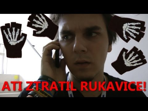 ATI ZTRATIL RUKAVICE!