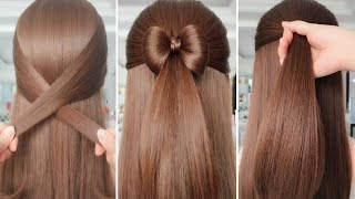 ⚠️ SIMPLE HAIRSTYLES FOR EVERYDAY ⚠️ - Hair Tutorials