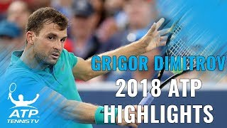 GRIGOR DIMITROV: 2018 ATP Highlight Reel