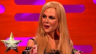 Nicole Kidman Gets Flustered Talking About Alexander Skarsgård   The Graham Norton Show