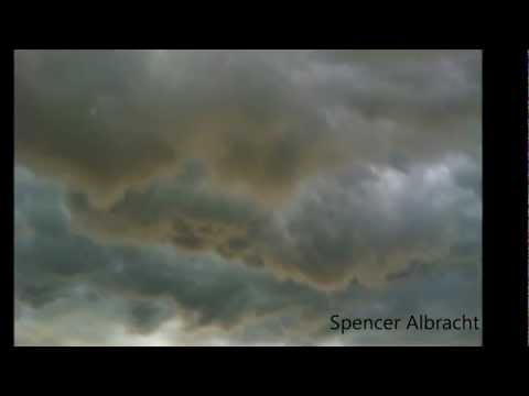Storm Chase in Oklahoma Feb. 2012  Skywarn Storm Chaser