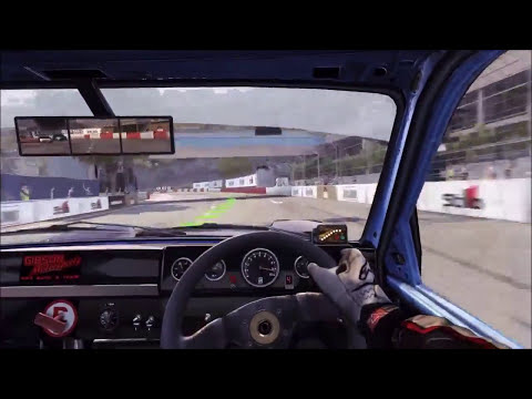 Gameplay Dirt 3 Rally Cross Courses Driving In Car View