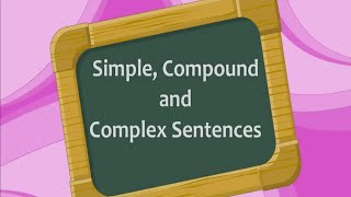 Simple, Compound and Complex Sentences - Iken Edu