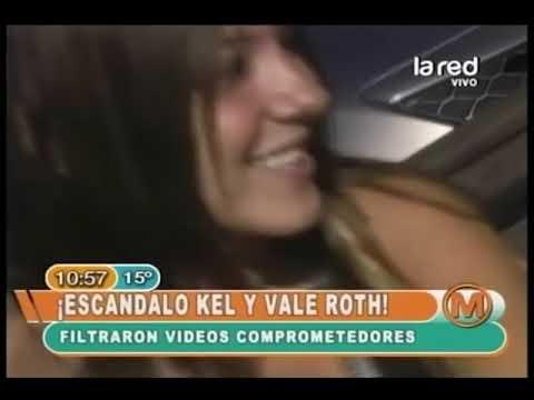 Escándalo por vídeos comprometedores de Kel y Vale Roth