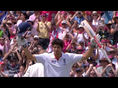 Alastair Cook - record breaker - from debut hundred to 9,000 Test runs