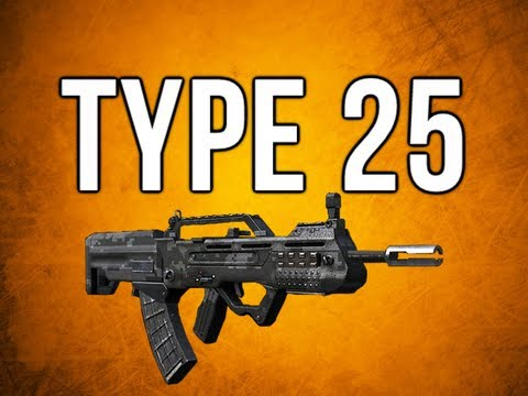 Black Ops 2 In Depth - Type 25 Assault Rifle Review