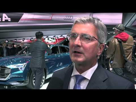Audis vd Rupert Stadler om Audi E-Tron Quattro