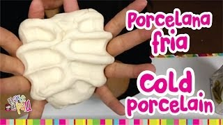 How to make COLD PORCELAIN / Como hacer PORCELANA FRIA (Resistente y Mejorada)