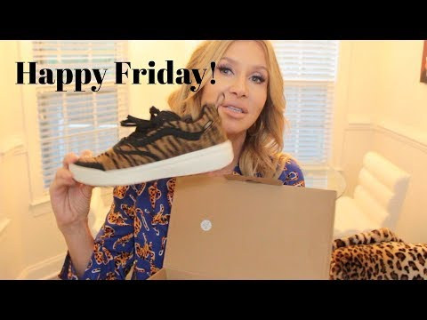 Happy Friday!  Vans Louise Young Anthropologie