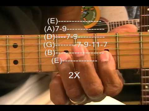 Bob Marley Style Reggae Wah Solo Riff How To Play On Guitar FunkGuitarGuru Funk