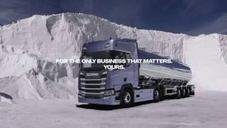 Scania solution Bulk Transport
