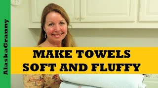 Make Towels Soft And Fluffy Again
